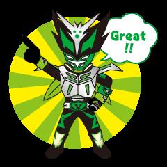 葛飾区ご当地ヒーロー仮面の守護者ゼロング