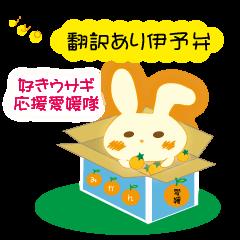 伊予弁好きウサギ応援愛媛隊(翻訳あり)