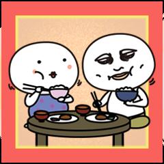 太郎と花子 四国から岡山へ敬語も使います