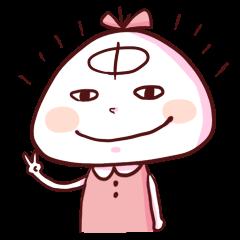 ナキャアミちゃんと仲間たち『にっ!』