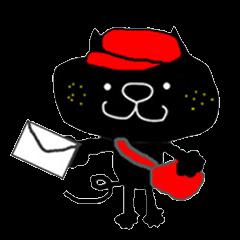 黒猫のクロスケ(連絡用2)