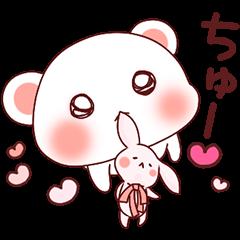 ❤️桜色Pinkならぶくま❤️愛を叫べ