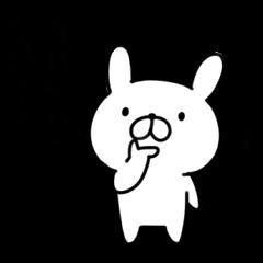 毒舌なウサギ