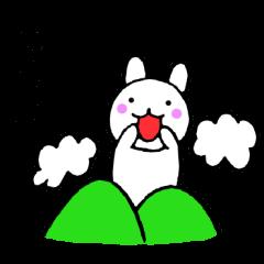 主婦が作ったウサギ デカ文字時々敬語