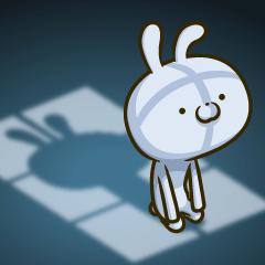 ウサギですがカワイイに疲れました‥
