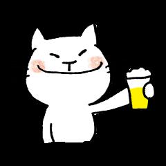 飲み会大好き!のみすけにゃん