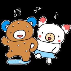 熊谷のくまーち&ユキちゃん