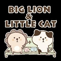 Big Lion & Little Cat [2]