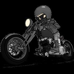 アメリカンバイク ブラックライダー2
