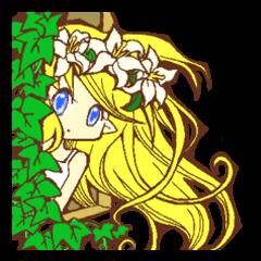 花とエルフ