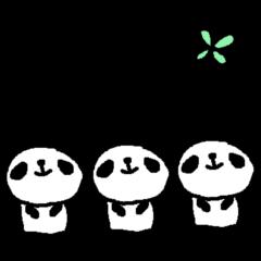 <敬語>いっぱーーいのパンダ♪ many panda