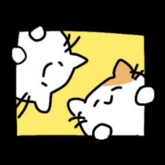 子ネコの小さめスタンプ